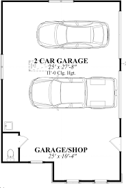 24x36 Garage Plans by Two Car Garage Size U2013 Garage Door Decoration