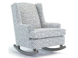 Upholstered Rocking Chairs Best Home Furnishings Runner Rockers Willow Upholstered Rocking