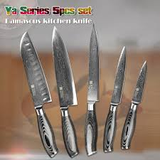 Chef Kitchen Knives Aliexpress Com Buy Xinzuo 5 Pcs Kitchen Knives Set 73 Layer