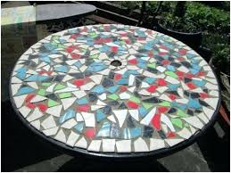 how to make a mosaic table top how to make a mosaic table newbedroom club