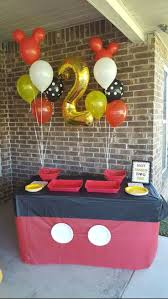 mickey mouse party decorations mickey mouse party decoration ideas birthday cake disney