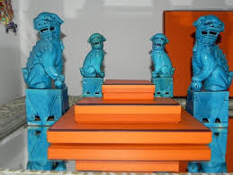 orange foo dogs chinoiserie chic what foo dogs really think