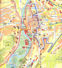 Bamberg Germany Map by Bad Kissingen Tourist Map Bad Kissingen Germany U2022 Mappery