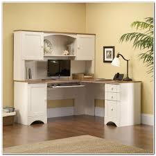 white corner computer desk with hutch desk interior design