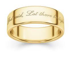 bible verse rings genesis bible verse wedding band ring lordsart