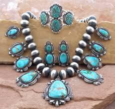 turquoise necklace set images Royston turquoise navajo pearl necklace set bilagaanas jpg