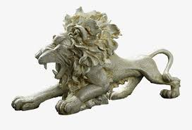 roaring lion statue roaring lion simba lion sculpture png image and clipart for