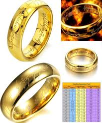 visit to buy 6mm size 7 15gold plated tungsten carbide lotr lord visit to buy 6mm size 7 15gold plated tungsten carbide lotr lord of