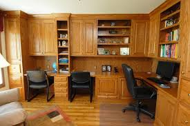 Custom Desks For Home Office Custom Home Office Cabinets And Built In Desks Regarding Furniture