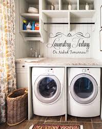 Laundry Room Wall Decor Laundry Room Decorating Ideas Pinterest At Best Home Design 2018 Tips