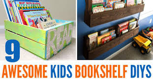 Kid Bookshelf 9 Awesome Diy Kids Bookshelves Childhood101