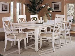 dining room table white a white dining table matches any theme in your dining room