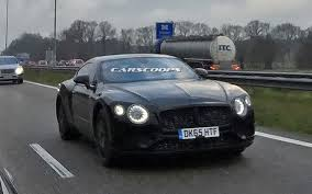 bentley sports car 2016 all new 2018 bentley continental gt spied for the first time