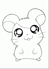 cute hamster coloring pages cute hamster color number free