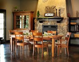 Amish Dining Room Set Amish Oak Dining Room Furniture