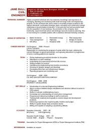 resume formats for engineers engineering cv exle jcmanagement co