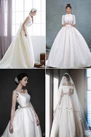 Satin Wedding Dresses 18 Classic Satin Wedding Dresses That Are Designed To Stand The