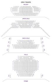 National Theatre Floor Plan by Lyric Theatre Seating Plan London Boxoffice Co Uk