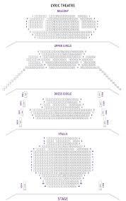 lyric theatre seating plan london boxoffice co uk
