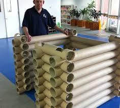 Lincoln Log Homes Floor Plans Carpet Tube Lincoln Log Style Log Fort Or House 6 Steps With