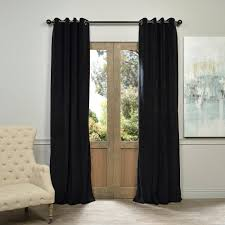 exclusive fabrics u0026 furnishings blackout signature warm black