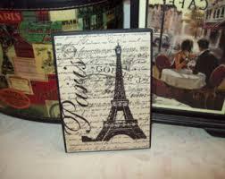 teal and black paris letter blockseiffel towerparis