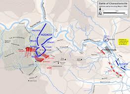 Battle Of Gettysburg Map The Civil War 150th Blog Battle Of Chancellorsville U2013 Day 3