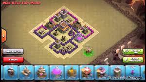coc village layout level 5 clash of clans best town hall level 5 clan war base layout defense