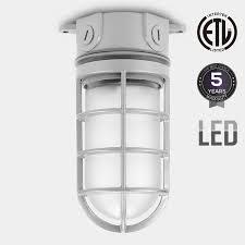 jelly jar light fixture integrated led vapor proof outdoor fixture 20w 70w mh hps