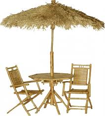 Patio Umbrella Tables by Tiki Patio Umbrella Under Ground