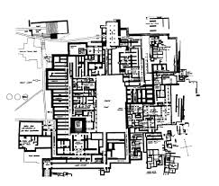 plan of the palace of minos