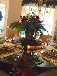 christmas table decorations settings entertaining ideas great