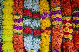 flower garlands for indian weddings indian bridal flower garland in singapore battered