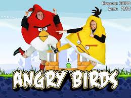 Angry Birds Halloween Costume Angry Birds Halloween Costumes Gadgetsin