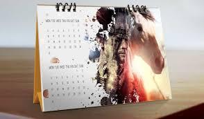 desain kalender meja keren percetakan cetak kalender 2017