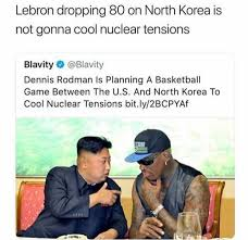 North Korean Memes - dopl3r com memes lebron dropping 80 on north korea is not