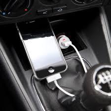 porta iphone da auto mini adattatore per auto macchina con porta usb per caricare