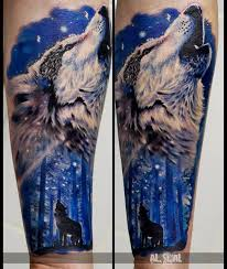 howling wolf on arm best ideas gallery
