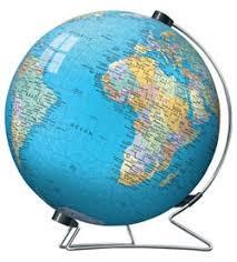 globe earth maps ravensburger 3d the earth puzzleball 540