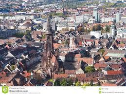 Germany Map Freiburg by Old Town Freiburg Im Breisgau Germany Stock Photography Image
