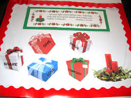 advent and christmas bulletin boards
