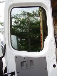 Van Rear Door Awning Sprinter Windows Solid And Venting Styles
