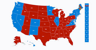 2016 Presidential Election Map Blue Collar Michigan Scholar U0027s U S Auto Workers U0027 24 Journalism