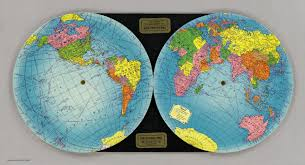 Global Map Of The World by Global Map Global Map Company 1940