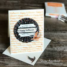 stampin up halloween stamps spooky night halloween for global design project 104 stampin u0027 hoot