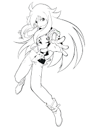inspirational coloring pages anime characters 61