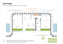 sustainable floor plans file earthship plan with vertically glazed southern wall svg