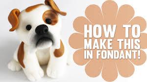 dog cake topper speed how to create a bulldog cake topper
