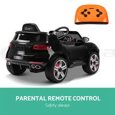 porsche toy car kids electric ride on car battery porsche macan style toy children
