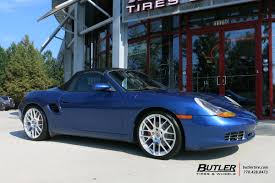 Porsche Boxster Custom - porsche boxster with 19in victor innsbruck wheels exclusively from